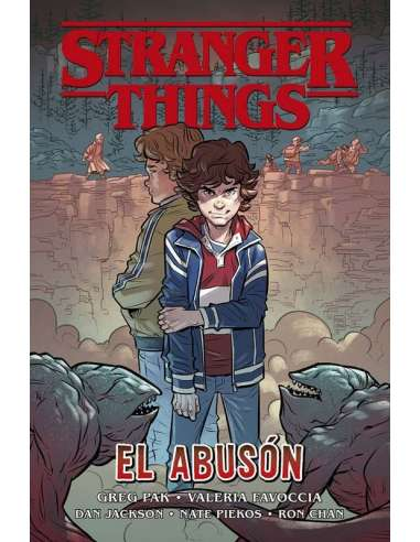STRANGER THINGS (JUVENIL) 02: EL ABUSÓN