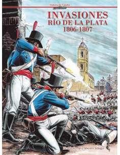 INVASIONES. RÍO DE LA PLATA...