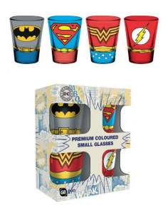 DC COMICS. SET 4 CHUPITOS...