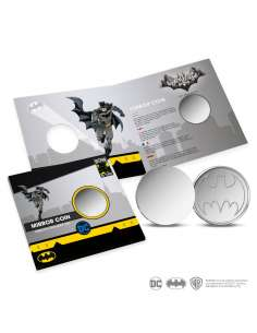 BATMAN. MONEDA REFLECTANTE...