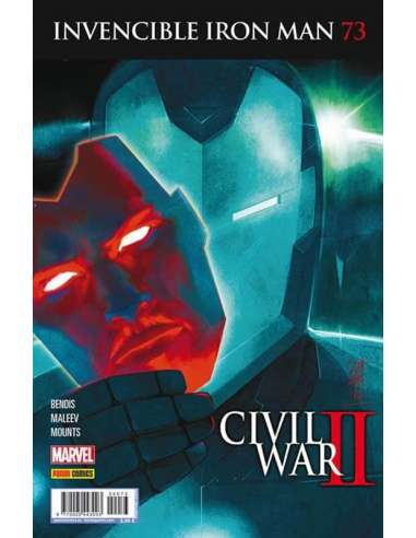 INVENCIBLE IRON MAN v3 73: CIVIL WAR II