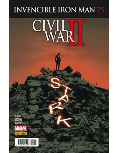 INVENCIBLE IRON MAN v3 75: CIVIL WAR II