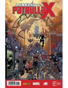 LOBEZNO Y LA PATRULLA-X v1 23