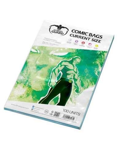 FUNDAS CÓMICS. CURRENT SIZE (100 un)