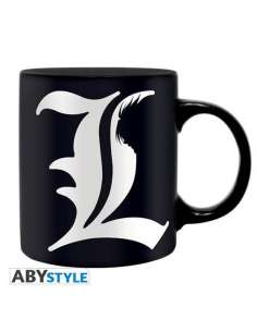 DEATH NOTE. TAZA L & REGLAS