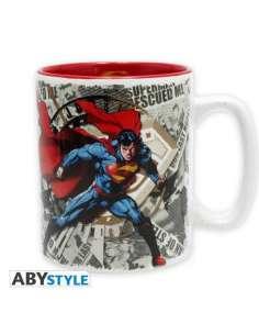 SUPERMAN. TAZA SUPERMAN Y LOGO