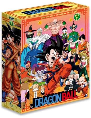 DRAGON BALL SAGAS COMPLETAS BOX 02