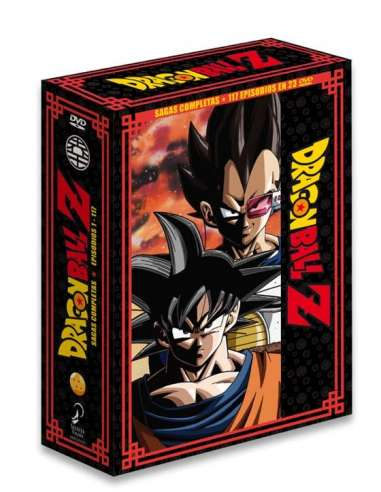 DRAGON BALL Z SAGAS COMPLETAS BOX 01