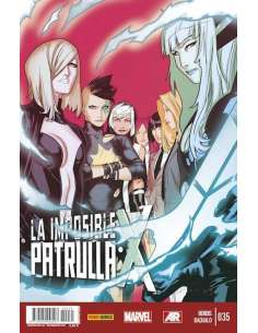 LA IMPOSIBLE PATRULLA-X v3 35