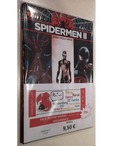 PACK RIUTORI MARVEL. SPIDERMEN II