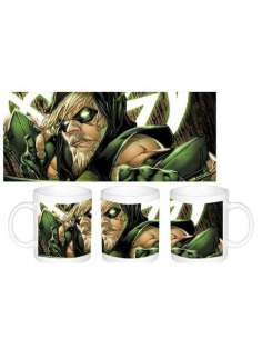 GREEN ARROW. TAZA GREEN ARROW