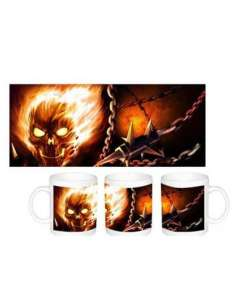 GHOST RIDER. TAZA GHOST RIDER