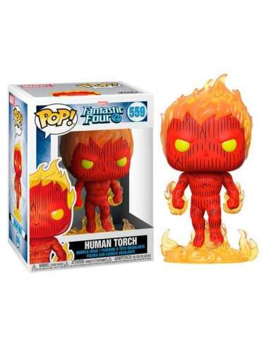 POP! MARVEL 559. HUMAN TORCH...