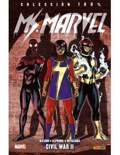 MS. MARVEL v4 05: CIVIL WAR...