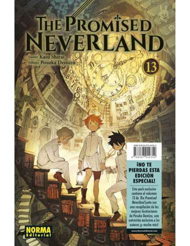 THE PROMISED NEVERLAND 13 + ESCAPE...