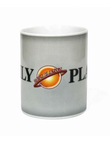 SUPERMAN. TAZA DAILY PLANET MAN OF STEEL