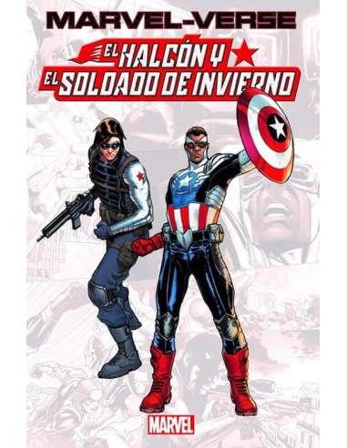 MARVEL-VERSE: EL HALCÓN Y EL SOLDADO...