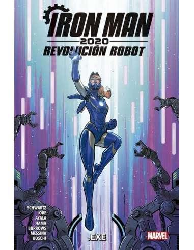 IRON MAN 2020. REVOLUCIÓN ROBOT 02: .EXE